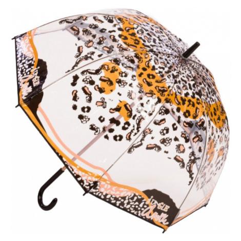 Anekke przezroczysty parasol z laską Jungle