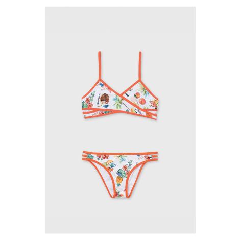 Dziewczęcy dwuczęściowy kostium kąpielowy Holiday