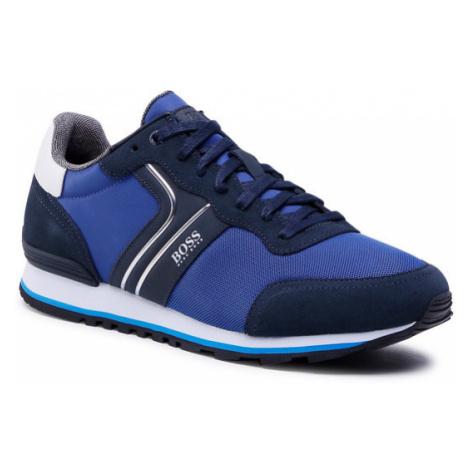 Boss Sneakersy Parkour 50433661 10214574 01 Niebieski Hugo Boss