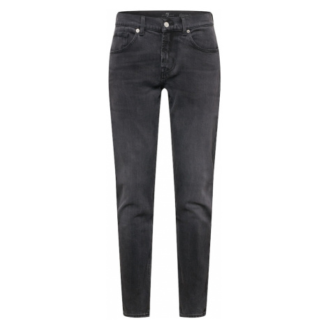 7 for all mankind Jeansy czarny denim