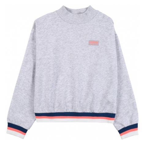 STACCATO Bluzka sportowa jasnoszary / niebieski / koralowy / biały