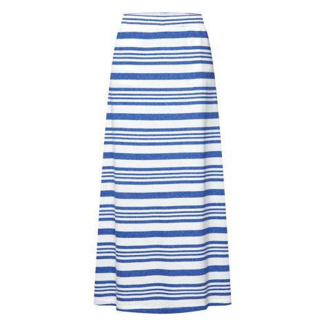 ICHI Spódnica 'MOTO' niebieski / biały
