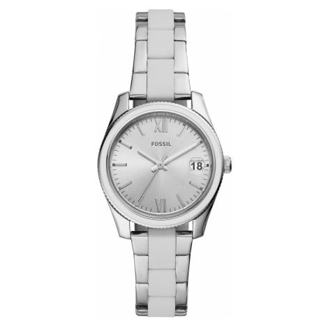 Zegarek FOSSIL - Scarlette ES4590 Silver/White