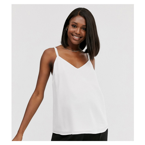 ASOS DESIGN Maternity eco swing double layer cami with wide straps