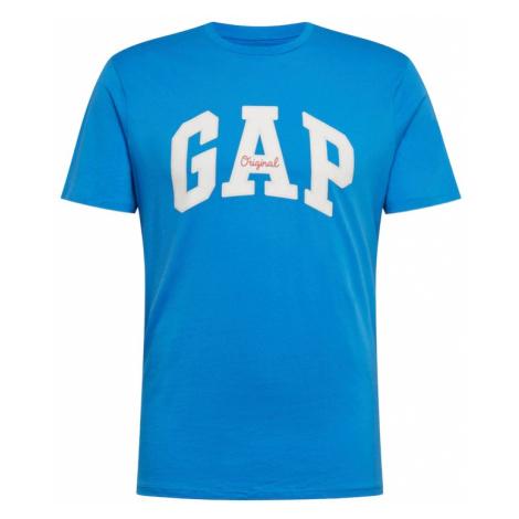 GAP Koszulka błękitny / biały
