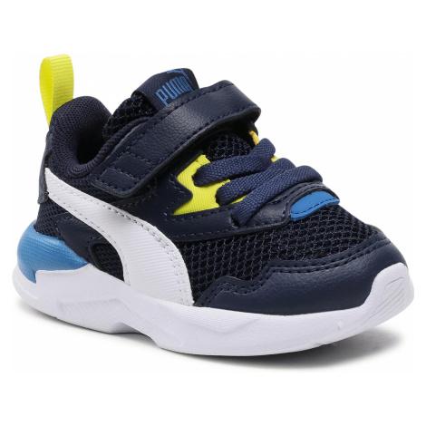 Sneakersy PUMA - X-Ray Lite Ac Inf 374398 10 Peacoat/White/Sulphur/Star