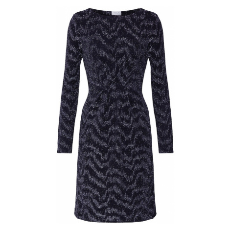 VILA Sukienka 'VIWIPY L/S DRESS' czarny / srebrny