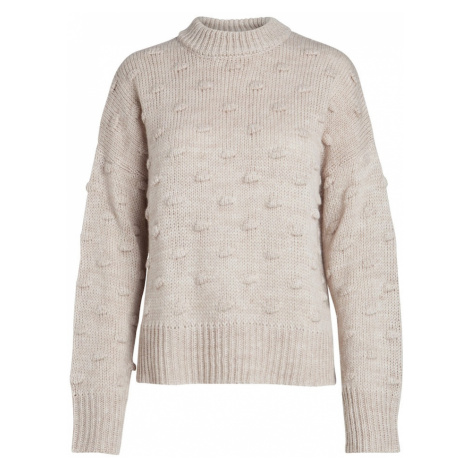 PIECES Sweter kremowy