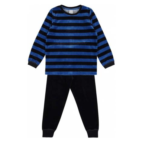 SANETTA Piżama ciemny niebieski / niebieski