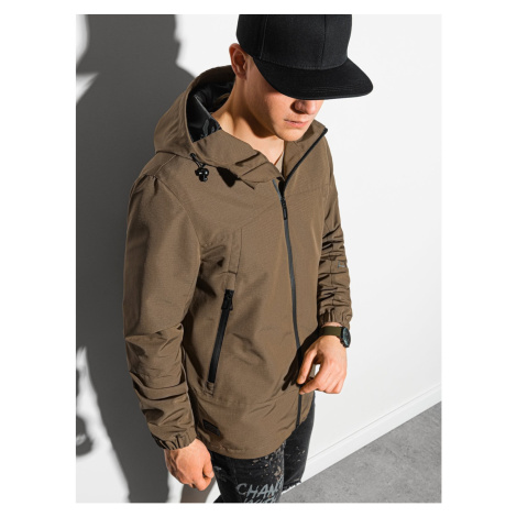 Ombre Clothing Men's mid-season quilted jacket C478