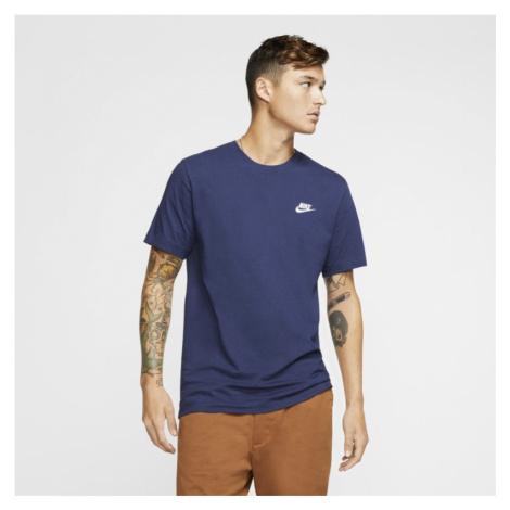 T-shirt męski Nike Sportswear Club - Niebieski