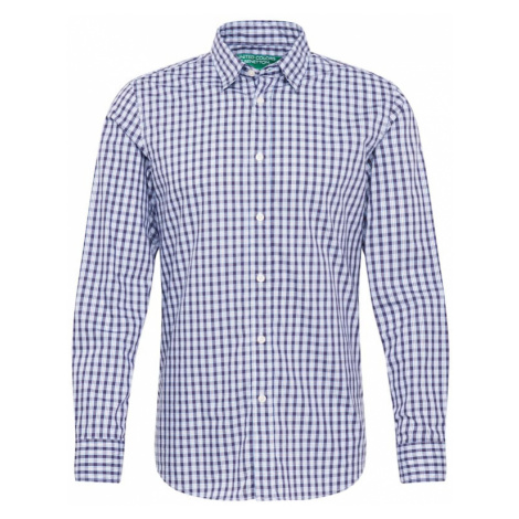 UNITED COLORS OF BENETTON Koszula jasnoniebieski / ciemny niebieski