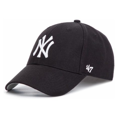 Czapka z daszkiem 47 BRAND - New York Yankees Home MVP B-MVP17WBV-BK Black