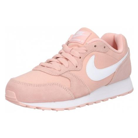 Nike Sportswear Trampki 'MD Runner 2 PE (GS)' stary róż / biały