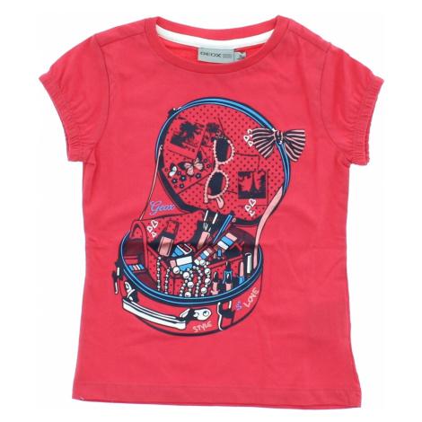 Geox Koszulka dziecięce Różowy