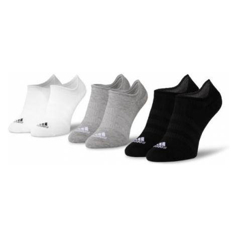 Adidas Zestaw 3 par niskich skarpet unisex Light Nosh 3PP DZ9414 Czarny