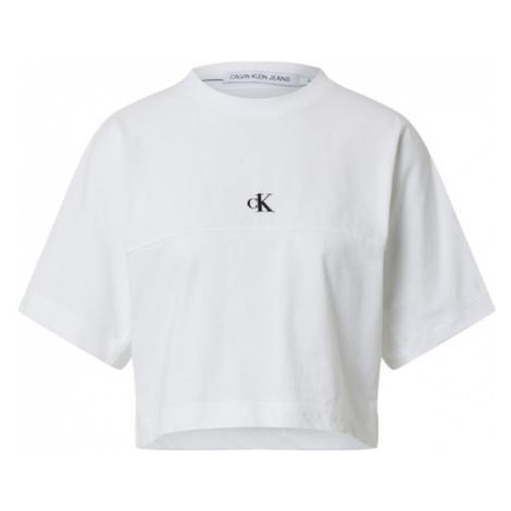 Calvin Klein Jeans Koszulka biały