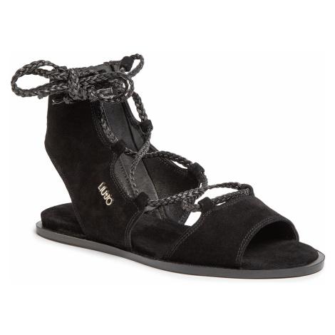 Sandały LIU JO - Thea 09 SA0107 P0021 Nero 22222