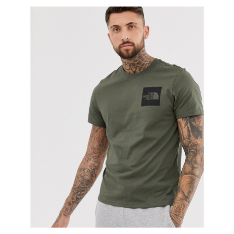 The North Face Fine t-shirt in green