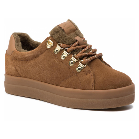 Sneakersy GANT - Aurora 19533860 Earth Brown G425