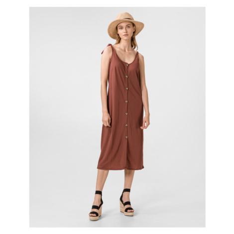 Vero Moda Petra Sukienka Brązowy