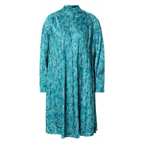 AMERICAN VINTAGE Sukienka koszulowa 'Gita 14' niebieski
