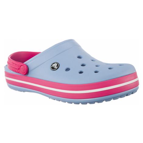 Klapki Crocs Crocband Chambray Blue/paradise Pink Chambray Blue/paradise Pink