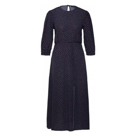 NEW LOOK Sukienka '3PE STEPHANIE H/SLE SPLIT MIDI' czarny