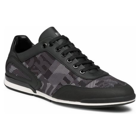 Sneakersy BOSS - Saturn 50445693 10232552 01 Black 005 Hugo Boss