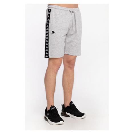 Spodenki Kappa Krótkieitalo Shorts, Regular Fit 309013 15-4101M Grey