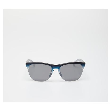 Oakley Frogskins Lite Splatterfade Sunglasses Black Teal/ Prizm Black Iridium