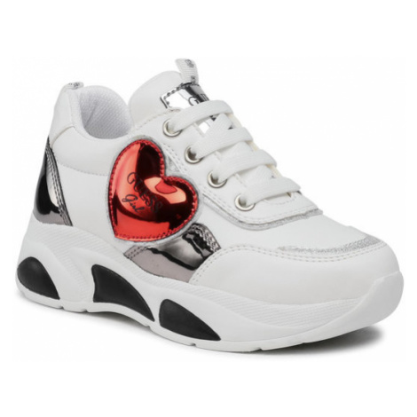 Guess Sneakersy Claire FI5CLR ELE12 Biały
