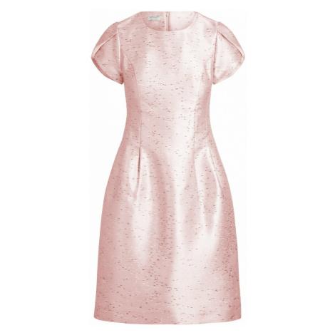 APART Sukienka koktajlowa różowy pudrowy / biały / czarny
