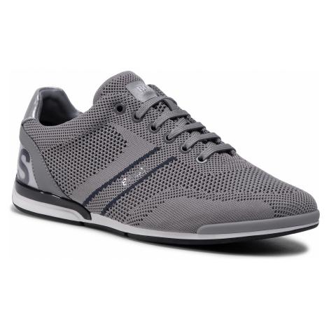 Sneakersy BOSS - Saturn 50432830 10227355 01 Medium Grey 030 Hugo Boss