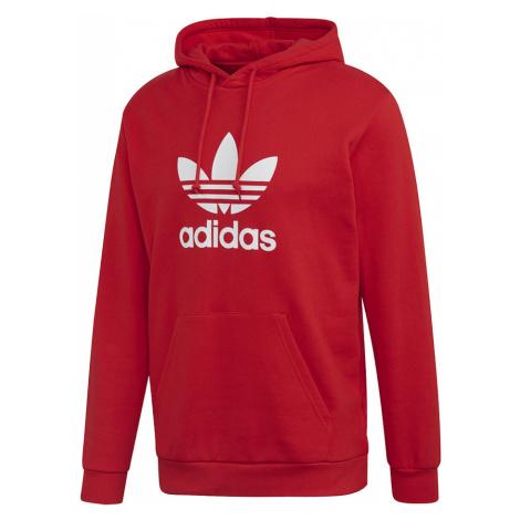 Adidas Trefoil Hoodie Męska Czerwona (FM3783)