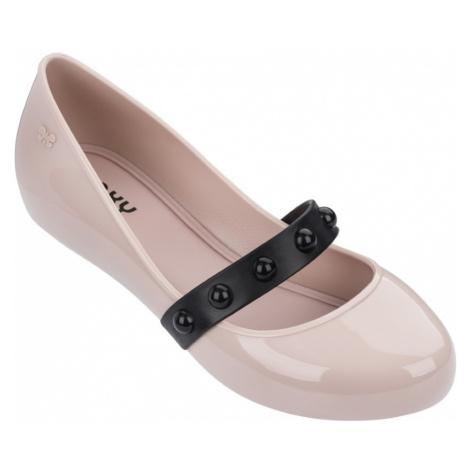 Zaxy pudrowe balerinki New Pop Ii Fem Pink/Black