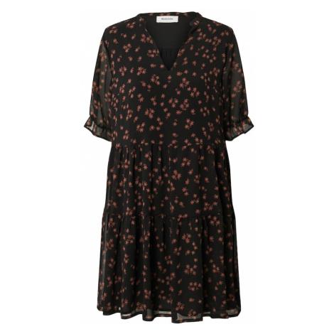 Modström Sukienka 'Erica' brązowy / czarny / biały
