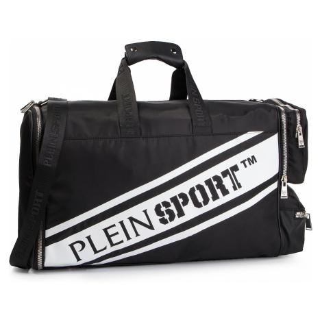Torba PLEIN SPORT - Medium Travel Bag Statement S19A MBD0121 STE003N Black 02