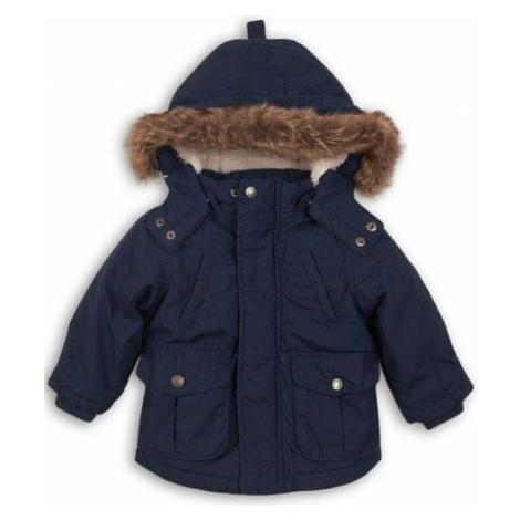 Minoti chłopięcy płaszcz parka niebieski