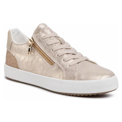 Sneakersy GEOX - D Blomiee A D026HA 0PVEW C2012 Lt Gold