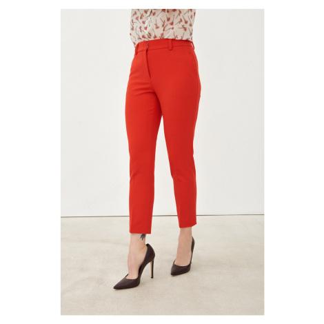 Pietro Filipi czerwone spodnie damskie