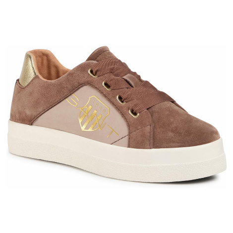 Sneakersy GANT - Avona 21533837 Mid Brown G466