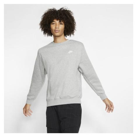 Bluza z dzianiny Nike Sportswear Club - Szary