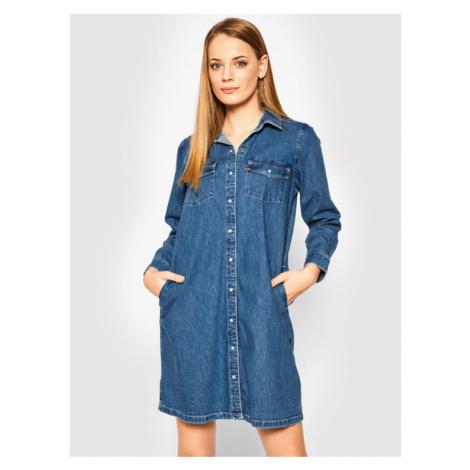 Levi's® Sukienka koszulowa Selma 85793-0000 Granatowy Regular Fit Levi´s