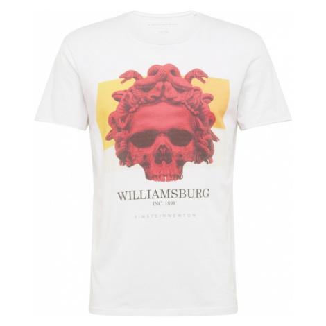 EINSTEIN & NEWTON Koszulka 'Ali Gator' biały / mieszane kolory