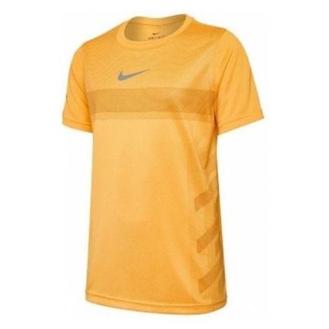 Nike koszulka NKCT Legend Rafa Tee Laser Orange Light Pumice