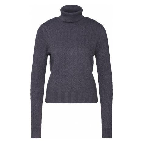 VILA Sweter 'VIRIL' ciemnoszary
