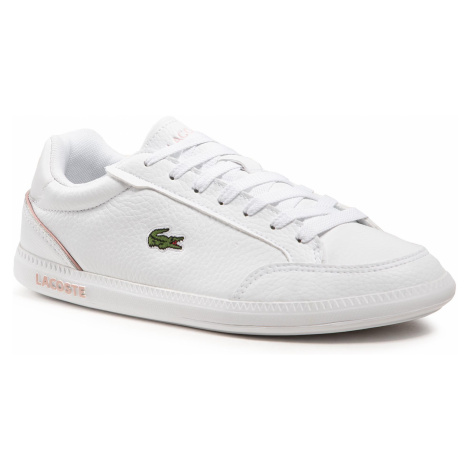 Sneakersy LACOSTE - Graduate Cap 0721 1 Sfa 7-41SFA00431Y9 Wht/Lt Pnk