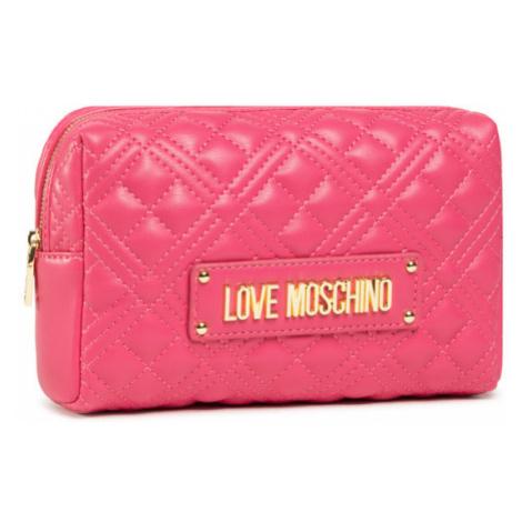 LOVE MOSCHINO Kosmetyczka JC5302PP1CLA0604 Różowy
