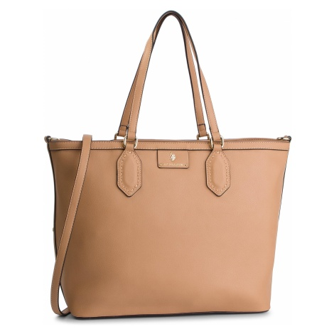 Torebka U.S. POLO ASSN. - Palm Beach Shopping Bag BEUPB0445WVP/521 Tan